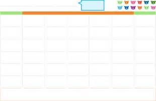 html calendar template the blank monthly calendar template can help you make a