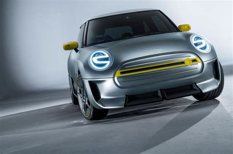 mini car electric mini unveils concept of production electric car