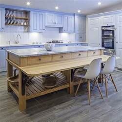 free standing kitchen islands with breakfast bar alternative ideas in free standing kitchen
