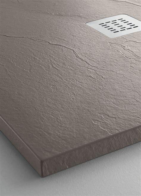 arblu piatti doccia arblu presenta well il nuovo effetto pietra a spacco