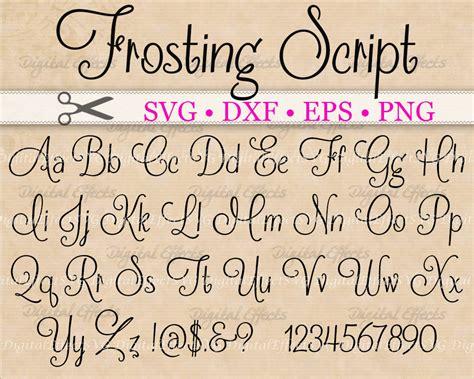 what s your favorite font the studio psnprofiles frosting script svg handwriting font retro script
