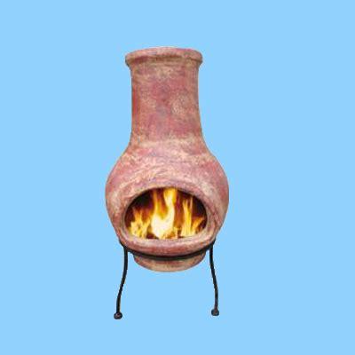 feuerstelle ton feuerstelle aus ton kleinster mobiler gasgrill