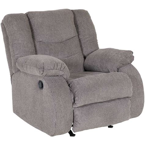 grey rocking recliner tulen gray rocker recliner t2 986rr ashley furniture afw