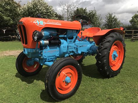 first lamborghini tractor fully restored 1966 1r is a lamborghini you could actually
