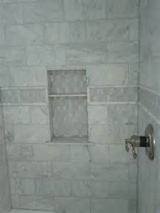 Marble Tile Bathroom Ideas Marble Subway Tile Shower Offering The Sense Of Elegance