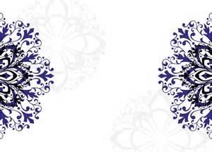 Wedding shower blank templates royal blue wedding invitation wording