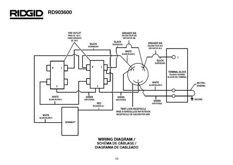 generator wiring schematic 26 wiring diagram images