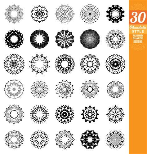 design free vector mandala designs collection vector free download