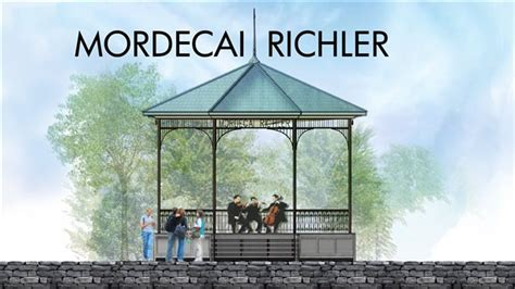 mordecai richler gazebo granite tree stumps denis coderre can t even do