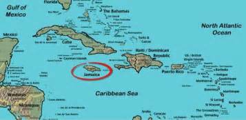 Jamaica On World Map by Map Of Jamaica West Indies Plus World Maps Of Jamaica