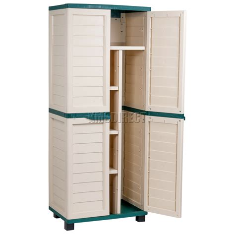 outdoor storage cabinet walmart starplast outdoor plastic garden utility cabinet with