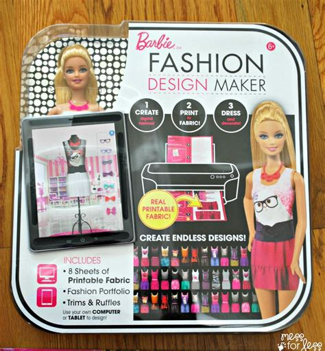 barbie fashion design maker com kids can be fashion designers with barbie 174 mess for less