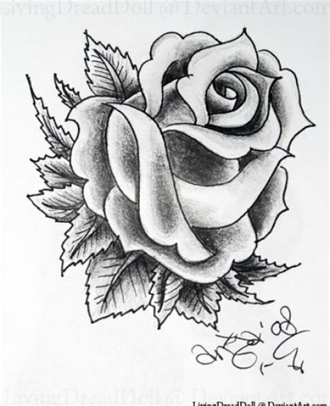 black and white rose tattoo designs 4 ink pinterest