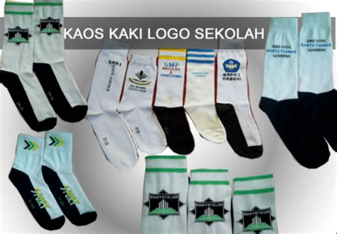Kaos Kaki Terbaru gambar kaos kaki sekolah logo terbaru produsen kaos kaki