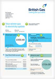 Uk Utility Bill Template by Understanding Your Bill Gas