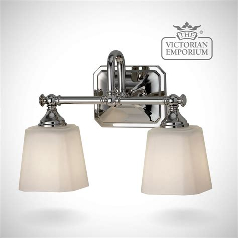 victorian bathroom lighting concord bathroom double wall light in polished chrome lights