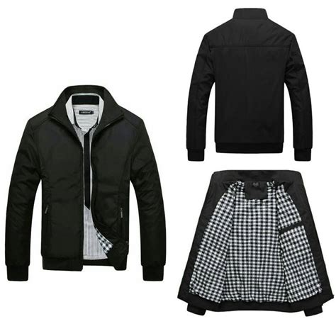 jaket bomber inv black simple elevenia