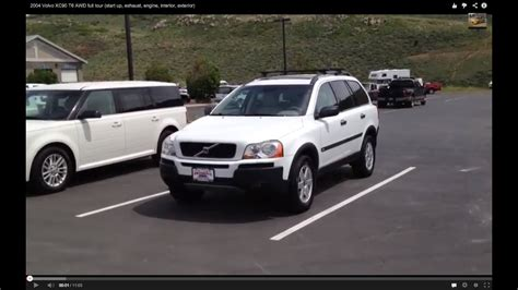 volvo xc  awd full  start  exhaust engine interior exterior youtube