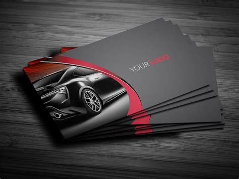 car dealer business card template 26 luxury business card free psd vector ai eps format
