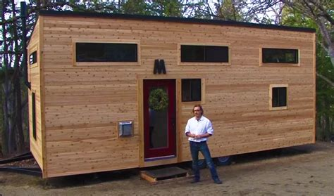 tiny house builder tiny house built in 4 months for 23k off grid world