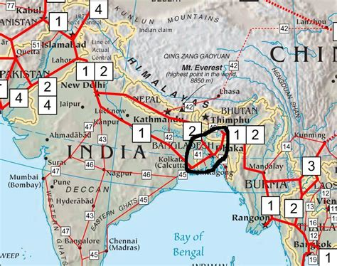 future road map asian highway the past and future maps the new horizon
