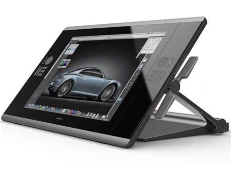 tavola grafica bamboo wacom debuts the cintiq interactive pen tablet