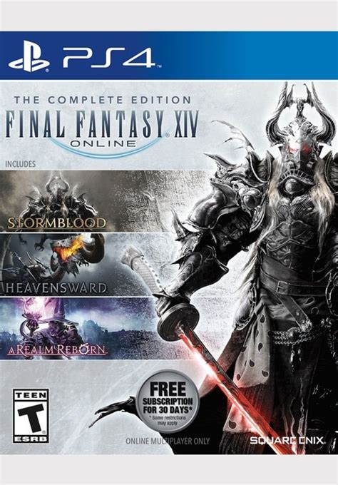Kaset Ps4 Xiv The Complete Edition 174 xiv complete edition ps4 square enix store