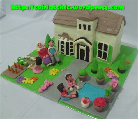 house cake design fondant backyardigans in cake ideas and designs