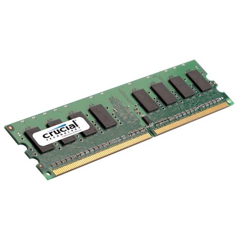 crucial 2gb 240 pin dimm ddr2 pc2 5300 memory ct25672aa667a