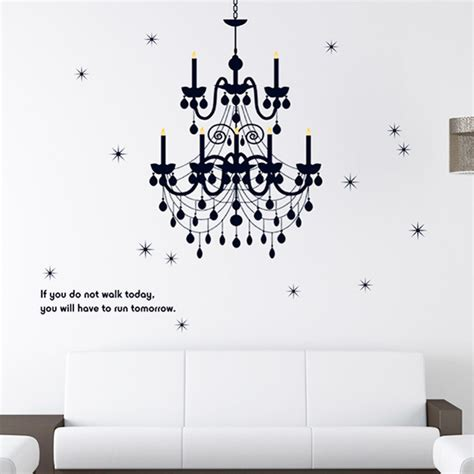 grand chandelier light fancy home decals wall
