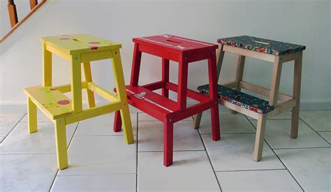 ikea bekvam stool spruced up step stool via dormer chic ikea bekvam ikea bekv 196 m stool hack
