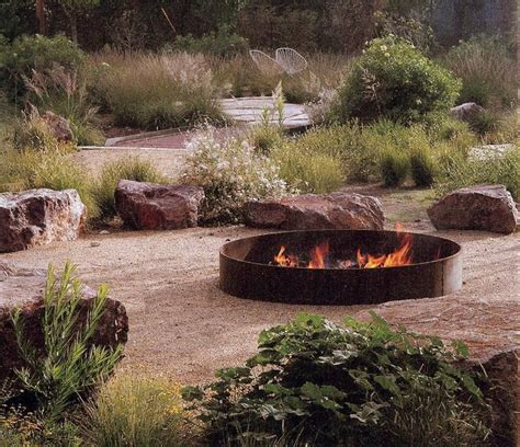Portable Fireplace by 35 Metal Fire Pit Designs And Outdoor Setting Ideas