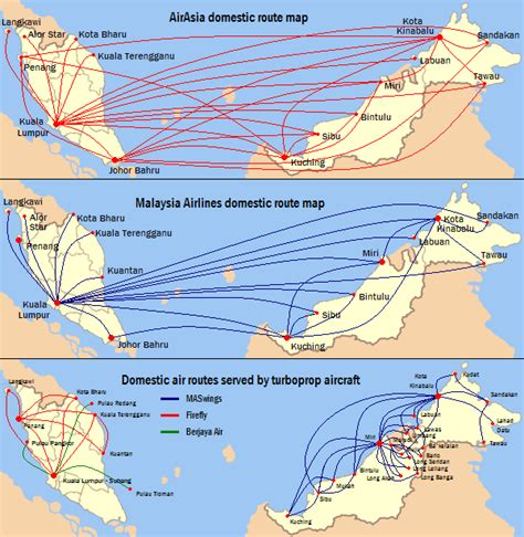 Air Di Malaysia file malaysia air routes png wikimedia commons