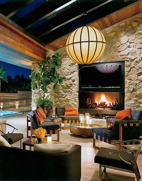 Outdoor Open Fireplace by 70 Outdoor Fireplace Designs For Cool Pit Ideas