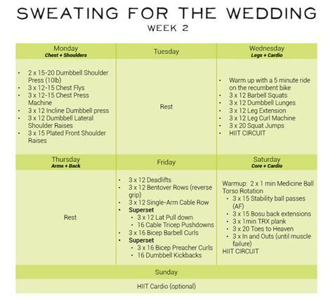 18 best Sweating for the Wedding images on Pinterest