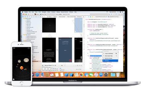 membuat aplikasi ios dengan xcode xcode 9 dirilis dengan ios 11 sdk dan iphone x simulator