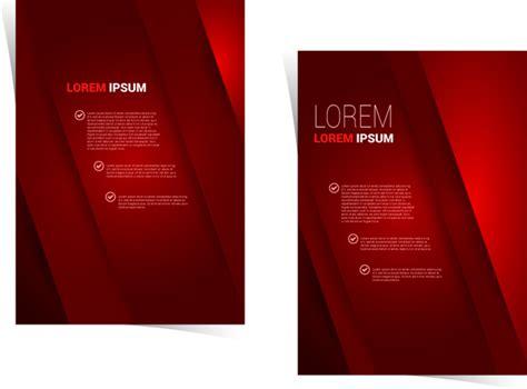 brochure template red red brochure template brochure free vector download 2279