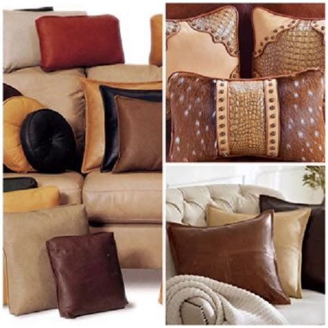 leather sofa pillows leather sofa decorative pillows brown