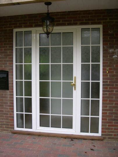 aluminium entrance doors  surrey west london p p glass