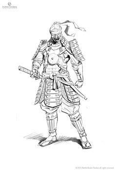 samurai drawing   Google Search   samurai   Pinterest