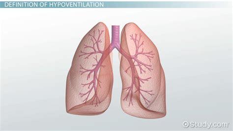 hypoventilation definition  symptoms video lesson transcript studycom