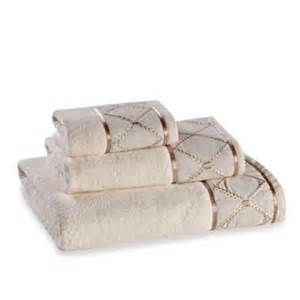 designer bathroom towels buy luxury designer towels from bed bath beyond