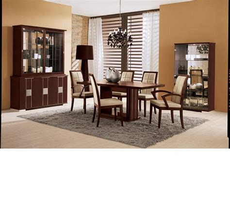 Dining Room Sets Made In Italy Dreamfurniture Miss Italy Modern Italian Dining