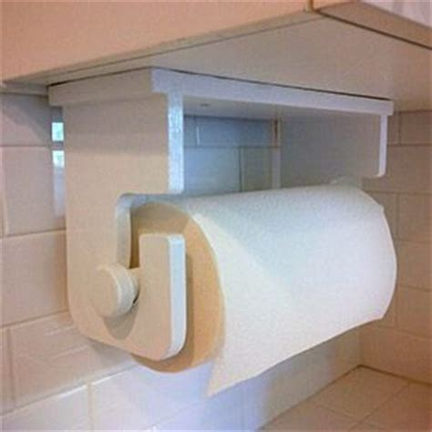 Make A Paper Towel Holder - easy to make paper towel holder easy woodworking