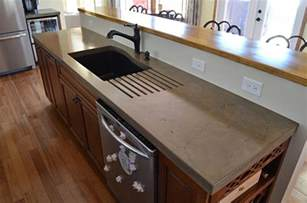 concrete countertops a primer on concrete countertops precast vs pour in place