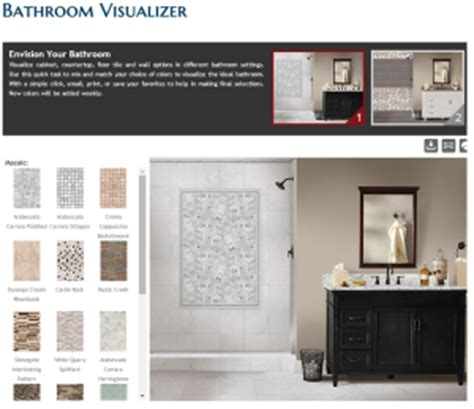 bathroom tile visualiser 4 free tools you must before you remodel visualizer