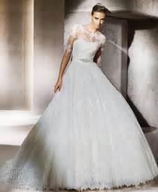 2012 wedding dresses pronovias bridal gown lace ballgown bridal belt