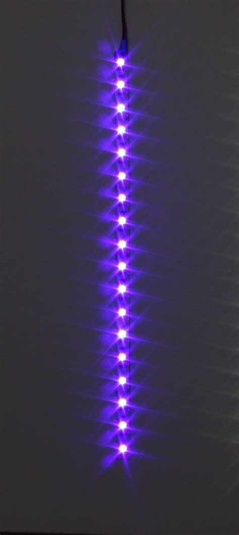 led light strips blue