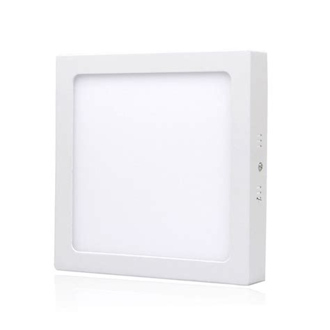 Gratis Ongkir Led Panel Light 12w Cool White 470 Lumens 6w 12w 24w surface ceiling spot light square led panel l warm cool white 271 ebay