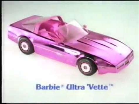 barbie corvette hq vintage 80 s barbie vette pink corvette commercial